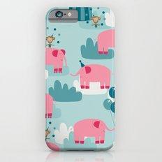 Pink Elephant Circus Slim Case iPhone 6s