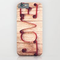 iPhone & iPod Case featuring LOVE by Hilary Walker