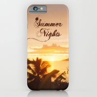 iPhone & iPod Case featuring Summer Nights by Maxime