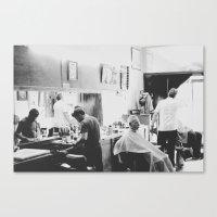 Get A Haircut (Shot In 2… Canvas Print