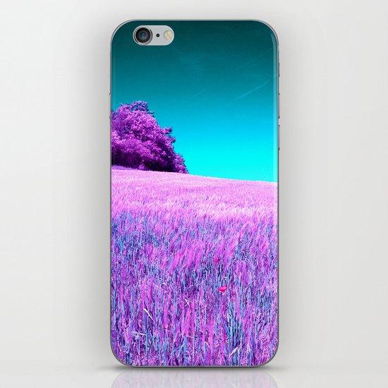 purple corn field II iPhone & iPod Skin