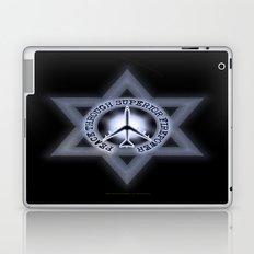 Israel Peace Symbol - 032 Laptop & iPad Skin