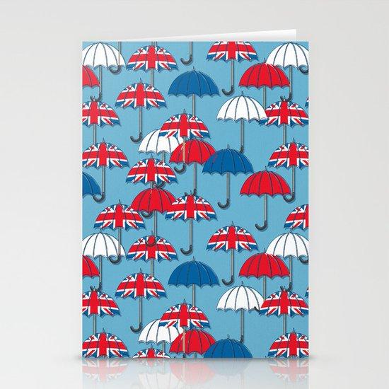 UK Umbrellas Stationery Card