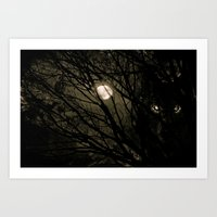 It's a full moon, so what? Art Print