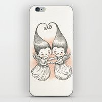 Heart to Heart iPhone & iPod Skin