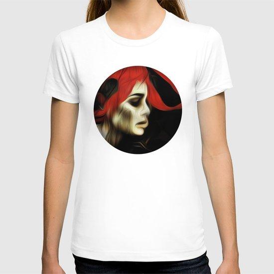 portrait of sadness T-shirt