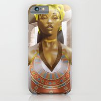 iPhone & iPod Case featuring High Priestess by Artist RX