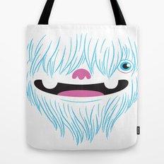 Happy Yeti Tote Bag