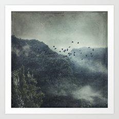 Misty Mountains Vol. X Art Print