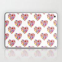 Rainbow Heart Pattern Laptop & iPad Skin