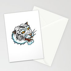 Traditional White Bengal Tiger Stationery Cards