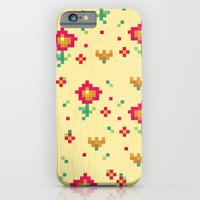 pixel iPhone & iPod Cases featuring Pixel by Kakel