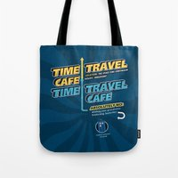 Time Travel Cafe Tote Bag