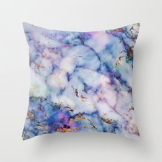 Marble Effect #6 Throw Pillow
