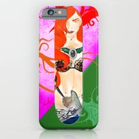 Warrior Lady.  iPhone 6 Slim Case
