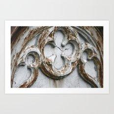 Grave Details Art Print