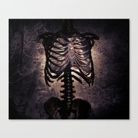 Open Hearts Canvas Print