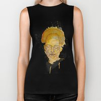 The Woman With The Black… Biker Tank