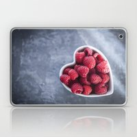 Raspberries For A Health… Laptop & iPad Skin