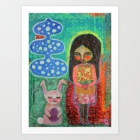 Gift Exchange Art Print