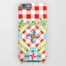 Cottage Chic Gingham II iPhone 6s Slim Case