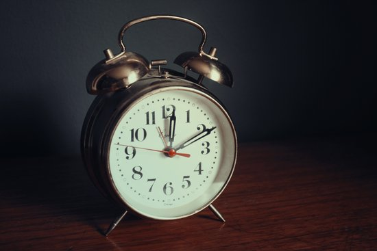 Ticking Clock Art Print