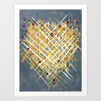 :: You Knit Me Together … Art Print
