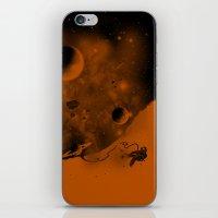 Lost in Negative Space iPhone & iPod Skin