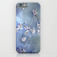 winter lotus iPhone 6 Slim Case