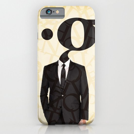 mr .g in a suit iPhone & iPod Case