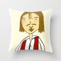 Don Juan Throw Pillow