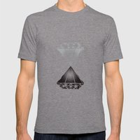 Diamonds Mens Fitted Tee Tri-Grey SMALL