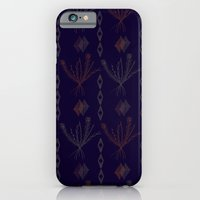 iPhone & iPod Case featuring Purple Weeds by R. Phillips