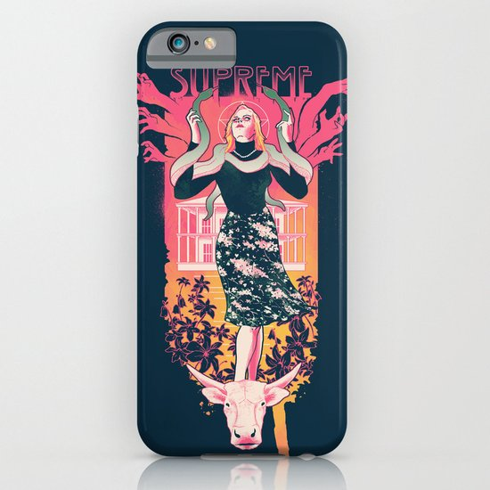supreme iphone ipod case by hillary white society6. Black Bedroom Furniture Sets. Home Design Ideas
