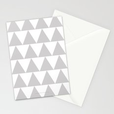 Grey Triangle /// www.pencilmeinstationery.com Stationery Cards