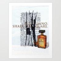 Disaronno Art Print