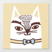 Katze #3 Canvas Print