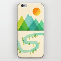 Bend in the River iPhone & iPod Skin