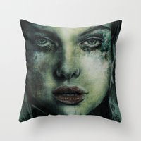 Tormented Throw Pillow