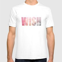 Wish Mens Fitted Tee White SMALL