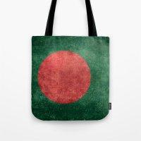 Flag Of Bangladesh - Vin… Tote Bag