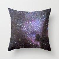 North American Nebulae. The Milky way. North America Nebula Throw Pillow