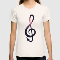 G Snake Womens Fitted Tee Natural SMALL
