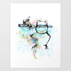 Aah - Cs140 Art Print