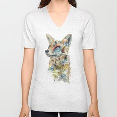 Heroes of Lylat Starfox Inspired Classy Geek Painting Unisex V-Neck