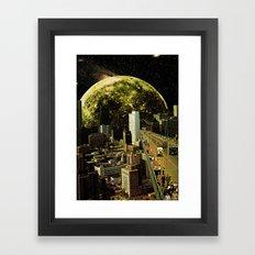 Lunar Connection Framed Art Print