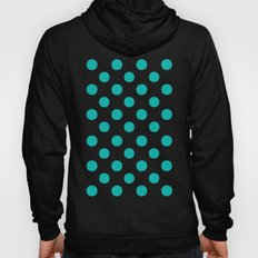 Polka Dots (Tiffany Blue/White) Hoody
