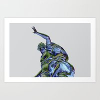 Goddess of Versailles Art Print