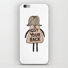 I Got Your Back #GirlSco… iPhone & iPod Skin