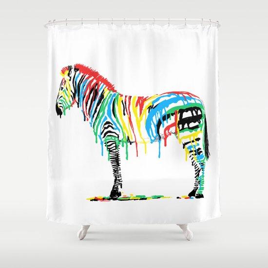Fresh Paint Shower Curtain